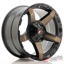 JR Wheels JRX5 18x9 ET20 6x139.7 Titanium Black JRX518906Z20110TB