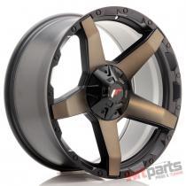 JR Wheels JRX5 20x9 ET20 6x139.7 Titanium Black JRX520906Z20110TB