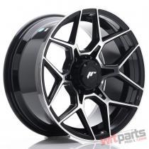 JR Wheels JRX9 18x9 ET18 6x139.7 Gloss Black Machined Face JRX918906Z18110GBM
