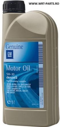 GM OPEL Longlife 5W-30 1L engine oil 5W30 GM