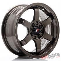 JR Wheels JR3 15x7 ET25 4x100/108 Bronze - JR3157142573BZ