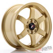 JR Wheels JR3 15x7 ET25 4x100/108 Gold - JR3157142573GD