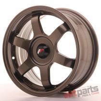 JR Wheels JR3 15x7 ET35-42 BLANK Bronze - JR31570XX3573BZ