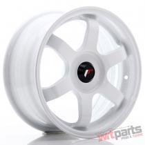 JR Wheels JR3 15x7 ET35-42 BLANK White - JR31570XX3573W