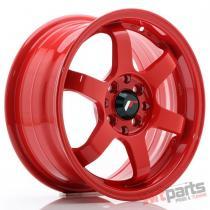 JR Wheels JR3 15x7 ET40 4x100/114 Red - JR3157044073R