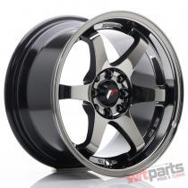 JR Wheels JR3 15x8 ET25 4x100/108 Black Chrome JR3158142573BCH