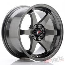 JR Wheels JR3 15x8 ET25 4x100/108 Gun Metal JR3158142573GM