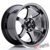 JR Wheels JR3 15x8 ET25 4x100/108 Hyper Black - JR3158142573HB