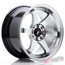 JR Wheels JR3 15x8 ET25 4x100/108 Hyper Silver JR3158142573HS