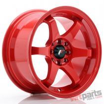 JR Wheels JR3 15x8 ET25 4x100/108 Red JR3158142573R