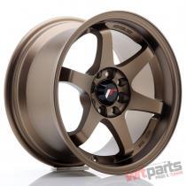JR Wheels JR3 15x8 ET25 4x100/114 Anodized Bronze - JR3158042573ABZ