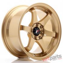 JR Wheels JR3 15x8 ET25 4x100/114 Gold JR3158042573GD