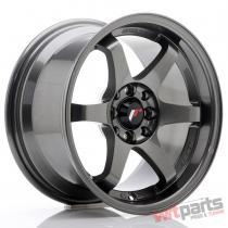 JR Wheels JR3 15x8 ET25 4x100/114 Gun Metal - JR3158042573GM