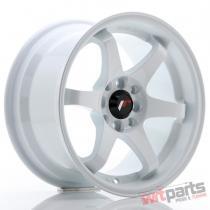 JR Wheels JR3 15x8 ET25 4x100/114 White JR3158042573W