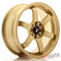 JR Wheels JR3 16x7 ET25 4x100/108 Gold - JR3167142573GD