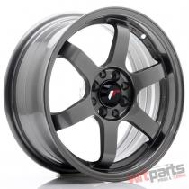 JR Wheels JR3 16x7 ET25 4x100/108 Gun Metal JR3167142573GM