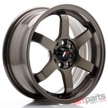 JR Wheels JR3 16x7 ET40 5x100/114 Bronze - JR3167054073BZ
