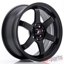 JR Wheels JR3 16x7 ET40 5x100/114 Matt Black - JR3167054073BF