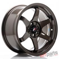 JR Wheels JR3 16x8 ET25 4x100/108 Bronze - JR3168042573BZ