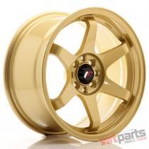 JR Wheels JR3 16x8 ET25 4x100/108 Gold JR3168042573GD