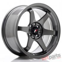 JR Wheels JR3 16x8 ET25 4x100/108 Gun Metal - JR3168042573GM