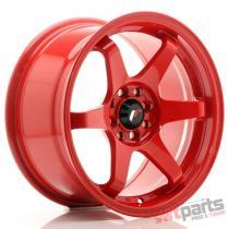 JR Wheels JR3 16x8 ET25 4x100/108 Red - JR3168042573R