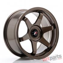 JR Wheels JR3 16x8 ET25 BLANK Bronze JR31680XX2573BZ
