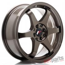 JR Wheels JR3 17x7 ET25 4x100/108 Bronze - JR3177142573BZ