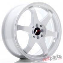 JR Wheels JR3 17x7 ET25 4x100/108 White - JR3177142573W