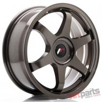 JR Wheels JR3 17x7 ET35-42 BLANK Bronze - JR31770XX3573BZ