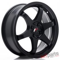 JR Wheels JR3 17x7 ET40 5x100/114 Matt Black JR3177054073BF