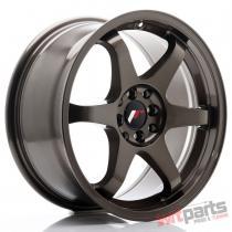JR Wheels JR3 17x8 ET25 4x100/108 Bronze - JR3178142573BZ