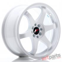 JR Wheels JR3 17x8 ET25 4x100/108 White - JR3178142573W