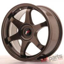 JR Wheels JR3 17x8 ET35 BLANK Bronze JR31780XX3573BZ