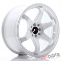 JR Wheels JR3 17x9 ET20 5x100/114 White - JR3179052073W