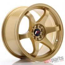 JR Wheels JR3 17x9 ET35 5x100/114 Gold - JR3179053573GD