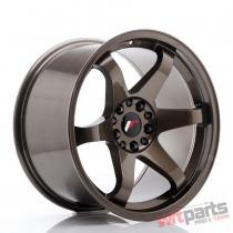 JR Wheels JR3 18x10 ET25 5x114,  3/120 Bronze - JR31810MG2574BZ