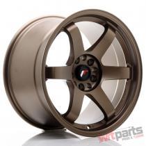 JR Wheels JR3 18x10,  5 ET15 5x114,  3/120 Dark Anodized Bronze - JR31805151574DABZ