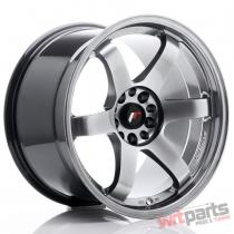 JR Wheels JR3 18x10,  5 ET15 5x114,  3/120 Hyper Black JR31805151574HB