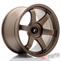 JR Wheels JR3 18x10,  5 ET25-30 BLANK Dark Anodized Bronze - JR31805XX2574DABZ