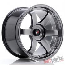JR Wheels JR3 18x10,  5 ET25-30 BLANK Hyper Black JR31805XX2574HB
