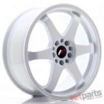 JR Wheels JR3 18x8 ET30 5x114/120 White - JR3188153074W