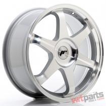 JR Wheels JR3 18x8 ET35-45 BLANK Silver Machined Face - JR31880XX3574SM