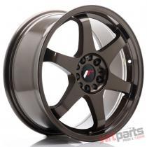 JR Wheels JR3 18x8 ET40 5x100/108 Bronze - JR31880MX4074BZ