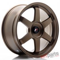 JR Wheels JR3 18x8,  5 ET25-42 BLANK Dark Anodized Bronze - JR31885XX2574DABZ