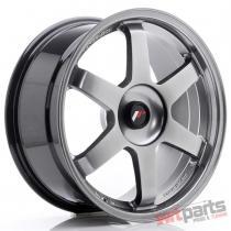 JR Wheels JR3 18x8,  5 ET25-42 BLANK Hyper Black - JR31885XX2574HB