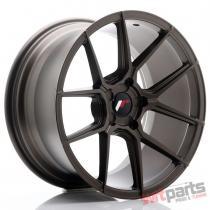 JR Wheels JR30 18x9,  5 ET20-40 5H BLANK Matt Bronze - JR3018955X2074MBZ