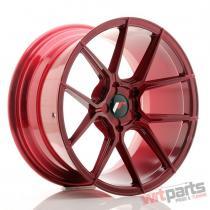 JR Wheels JR30 18x9,  5 ET20-40 5H BLANK Platinum Red - JR3018955X2074RP1