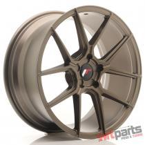 JR Wheels JR30 19x8,  5 ET20-42 5H BLANK Matt Bronze JR3019855X2074MBZ