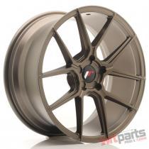 JR Wheels JR30 19x8,  5 ET35-42 5H BLANK Matt Bronze JR3019855X3574MBZ